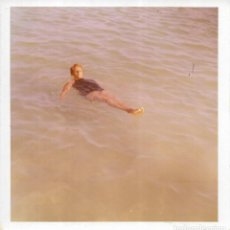 Fotografía antigua: == GG402 - FOTOGRAFIA - SEÑORA TOMANDO EL BAÑO. Lote 195101657