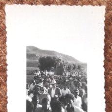Fotografía antigua: PROCESION RELIGIOSA - PASO RELIGIOSO DE VIRGEN. Lote 195171173
