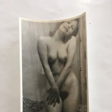 Fotografía antigua: FOTO EROTICA. FÍJATE LO Q TENGO. FOTÓGRAFO?. MEDIDAS 7,5 X 10,5 CM.. Lote 195177491