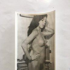 Fotografía antigua: FOTO EROTICA. CON MUCHO CARÁCTER. FOTÓGRAFO?. MEDIDAS 7,5 X 10,5 CM.. Lote 195178171