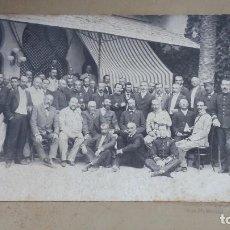Fotografía antigua: PERSONAJES DE PRINCIPIOS DE SIGLO, J. BARRERA, SEVILLA. Lote 195207673