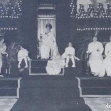 Fotografía antigua: REINA DE CARNAVAL? DE PRINCIPIOS DE SIGLO, AUTOR ARENAS Y SANCHEZ DEL PANDO, SEVILLA. Lote 195208495