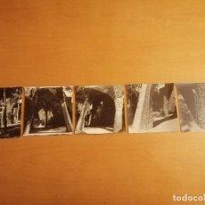 Fotografía antigua: CINCO FOTOGRAFIAS DE JOAQUIM GOMIS, PARA LA MAQUETACIÓN DEL FOTOSCOP LA CRIPTA GUELL. CA. 1968. Lote 195247187