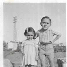 Fotografía antigua: == FP374 - FOTOGRAFIA PEQUEÑO FORMATO - BONITA PAREJITA - 6,5 X 4,5 CM.. Lote 195337776
