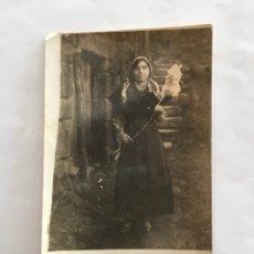 Fotografía antigua: FOTO. RETRATO DE MERCEDES. FOTÓGRAFO?. H. 1925?.. Lote 195370288