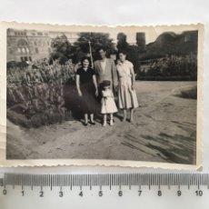 Fotografía antigua: FOTO. GRUPO FAMILIAR. FOTÓGRAFO?.. Lote 195466137