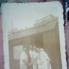 Fotografía antigua: TREN VAGON ANTIGUA FOTOGRAFIA PARTICULAR TONO SEPIA FERROCARRIL 6,5 X 4,5 CMS SOBADO. Lote 195481777