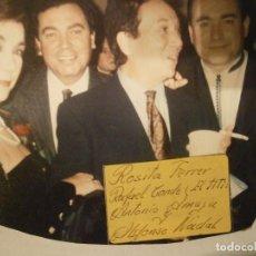Fotografía antigua: FOTO ORIGINAL DE ARTISTAS,,ROSITA FERRER¡¡Y,,,,,,,,. Lote 195513732