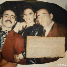 Fotografía antigua: FOTO DE ARTISTA ORIGINAL¡¡ALFONSO NADAL¡¡Y,,,,,,UNICA EN TC. Lote 195514172