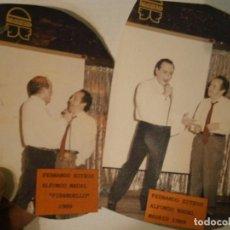 Fotografía antigua: DOS FOTOS ORIGINALES DE FERNANDO ESTESO¡¡AÑO 1989¡¡. Lote 195514231