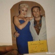 Fotografía antigua: FOTO ORIGINAL SUSANA EGEA, Y ALFONSO NADAL¡¡¡. Lote 195514546