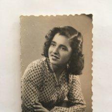 Fotografía antigua: FOTO. JUVENTUD Y BELLEZA. FOTÓGRAFO.... LORCA.. Lote 195533867