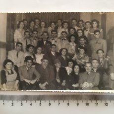 Fotografía antigua: FOTO. NOCHE DE FIESTA. FOTO M. LUCAS. VALENCIA.. Lote 195534895