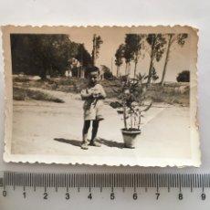 Fotografía antigua: FOTO. DEDICADA A MIS ABUELOS. FOTÓGRAFO?.. Lote 195535402