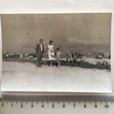 Fotografía antigua: FOTO. BARCELONA DESDE MONTJUICH. FOTÓGRAFO?.. Lote 195535536