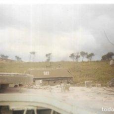 Fotografía antigua: == B1594 - FOTOGRAFIA - CARRO DE COMBATE. Lote 195545841