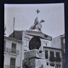 Fotografía antigua: ANTIGUA FOTOGRAFÍA DE UNA FALLA DE VALENCIA. . Lote 196538402