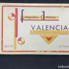 Fotografía antigua: FOTOGRAFIAS ARTISTICAS DE VALENCIA - SERIE B - 10 VISTAS - J. DURA -. Lote 196588871