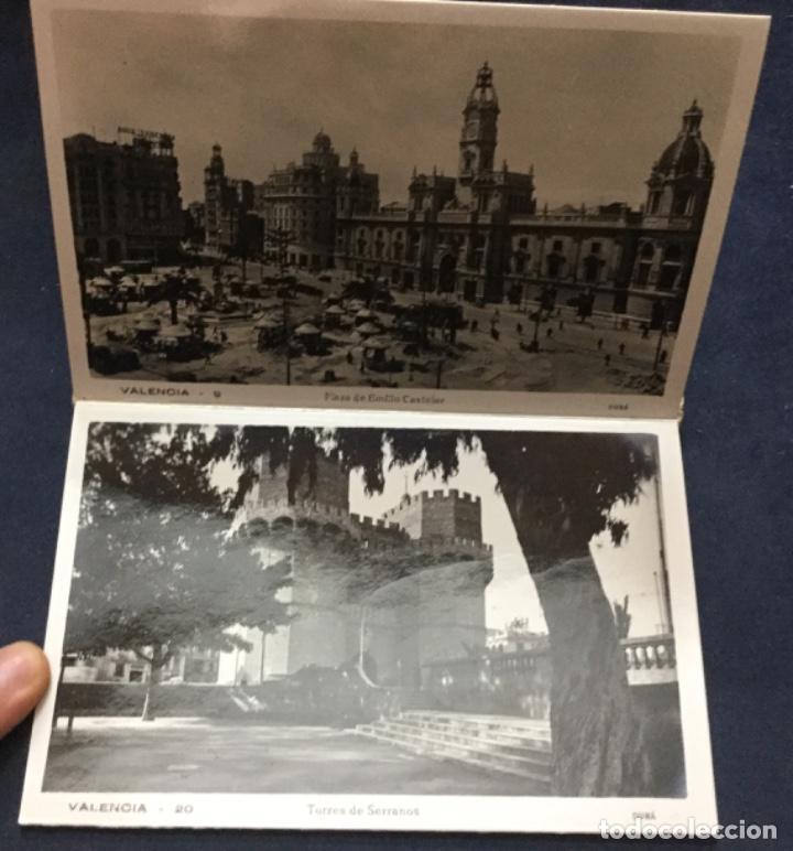 Fotografía antigua: FOTOGRAFIAS ARTISTICAS DE VALENCIA - SERIE B - 10 VISTAS - J. DURA - - Foto 3 - 196588871