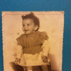 Photographie ancienne: ANTIGUA FOTOGRAFIA INFANTIL. MUY BONITA. Lote 196631752