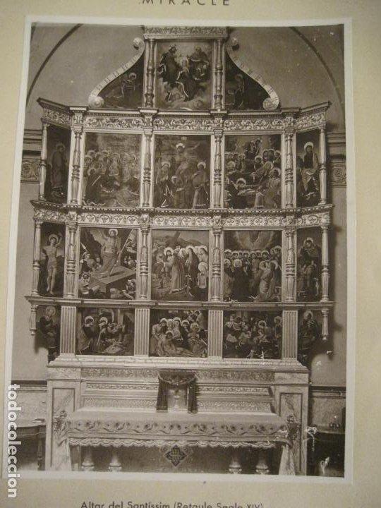 Fotografía antigua: SOLSONA-MIRACLE-ADORACIO DEL STS REIS-RETAULE SEGLE XV-FOTOGRAFIA ANTIGA-VER FOTOS-(V-19.396) - Foto 3 - 196805281