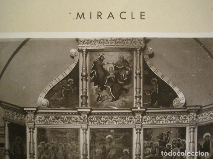 Fotografía antigua: SOLSONA-MIRACLE-ADORACIO DEL STS REIS-RETAULE SEGLE XV-FOTOGRAFIA ANTIGA-VER FOTOS-(V-19.396) - Foto 4 - 196805281