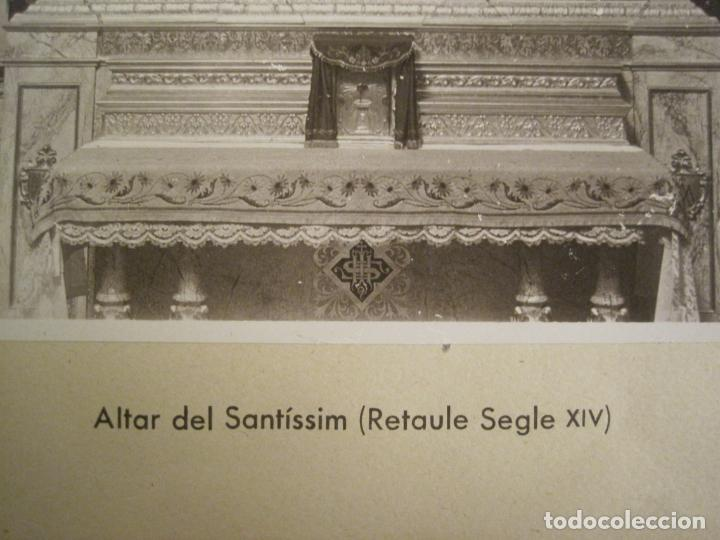 Fotografía antigua: SOLSONA-MIRACLE-ADORACIO DEL STS REIS-RETAULE SEGLE XV-FOTOGRAFIA ANTIGA-VER FOTOS-(V-19.396) - Foto 5 - 196805281