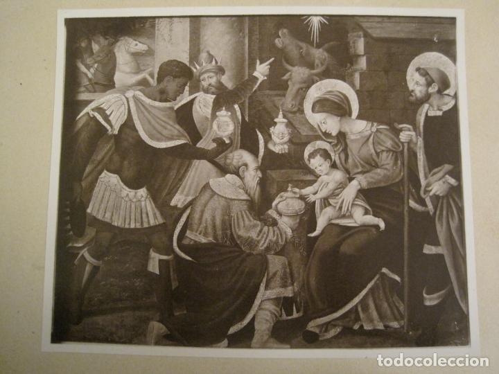 Fotografía antigua: SOLSONA-MIRACLE-ALTAR DEL SANTISSIM-RETAULE SEGLE XV-FOTOGRAFIA ANTIGA-VER FOTOS-(V-19.397) - Foto 3 - 196805326