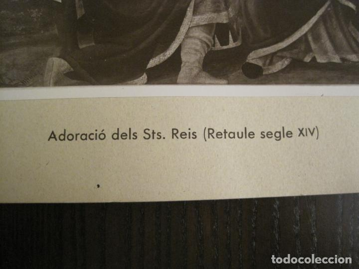 Fotografía antigua: SOLSONA-MIRACLE-ALTAR DEL SANTISSIM-RETAULE SEGLE XV-FOTOGRAFIA ANTIGA-VER FOTOS-(V-19.397) - Foto 5 - 196805326