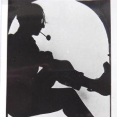 Fotografia antiga: F-4605.CURIOSA FOTOGRAFIA DE JUST CABOT I RIBOT (BARCELONA 1898- PARÍS 1981), EN BARCELONA.. Lote 196908647