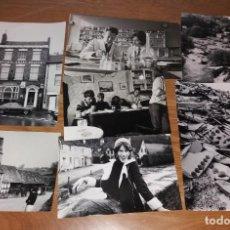 Fotografía antigua: FOTOGRAFÍA. ESCENAS COSTUMBRISTAS BRITÁNICAS AÑOS 70. LOTE DE 7, TAMAÑO GRANDE. Lote 197252195