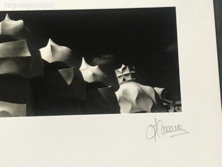Fotografía antigua: FOTOGRAFÍA DE LLORENÇ HERRERA ALTES. CASA MILA LA PEDRERA. GAUDÍ. FIRMADA. - Foto 4 - 197380068