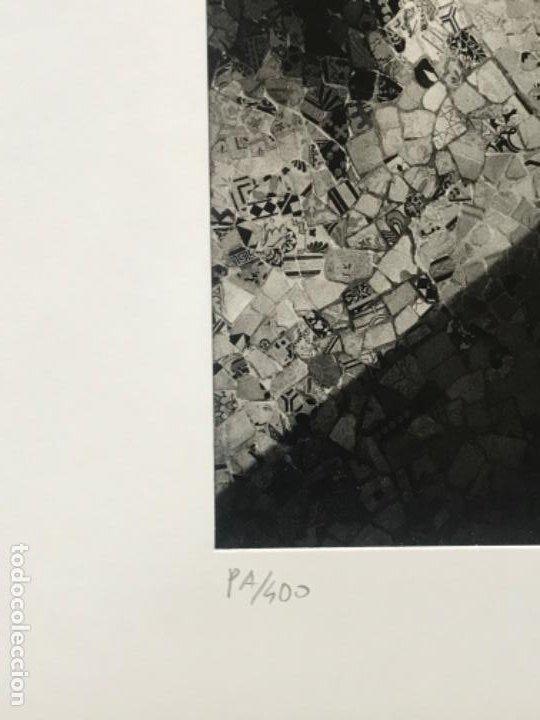Fotografía antigua: FOTOGRAFÍA DE LLORENÇ HERRERA ALTÉS. PARQUE GÜELL.GAUDÍ. FIRMADA. - Foto 3 - 197380537