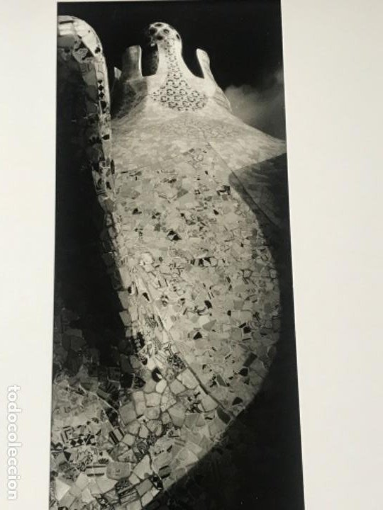 Fotografía antigua: FOTOGRAFÍA DE LLORENÇ HERRERA ALTÉS. PARQUE GÜELL.GAUDÍ. FIRMADA. - Foto 5 - 197380537