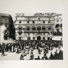Fotografía antigua: FOTOGRAFÍA AUTOR DESCONOCIDO, TRONADA AL MERCADAL 1899 FONDO MUSEO SALVADOR VILASECA. REUS. NUMERADA. Lote 197381103