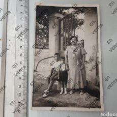 Fotografía antigua: FOTO POSTAL AÑOS 40. Lote 197913445