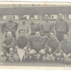 Fotografía antigua: FOTO EQUIPO DE FUTBOL DE CASTELLON. Lote 197981853