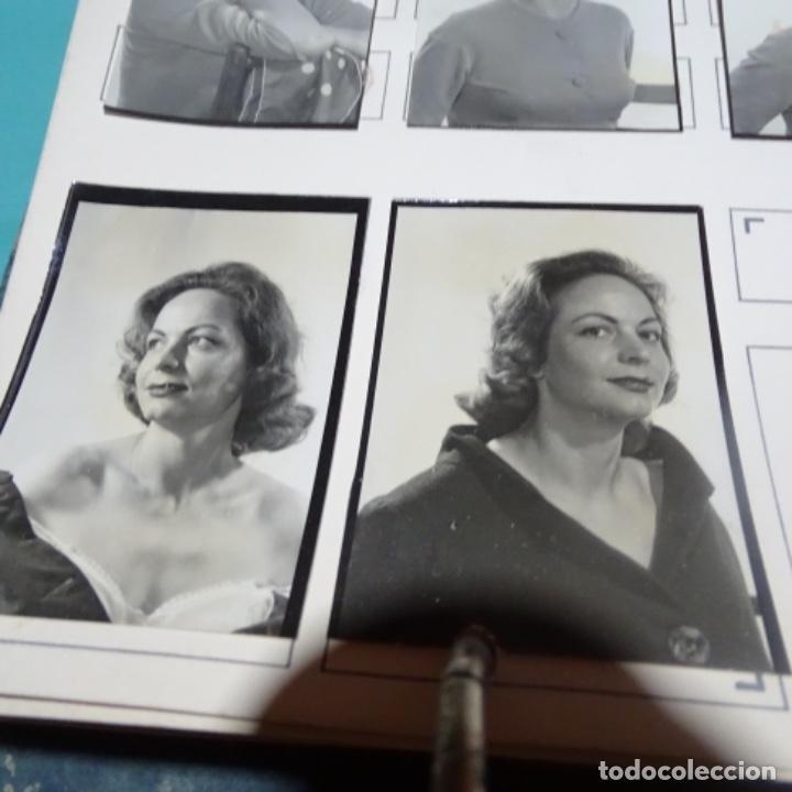 Fotografía antigua: 6 fotografías años 50 de la actriz Montserrat salvador deop (1927). - Foto 4 - 198048445