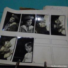 Fotografía antigua: 6 FOTOGRAFÍAS AÑOS 50 DE LA ACTRIZ NURIA ESPERT ROMERO(1935).. Lote 198058270