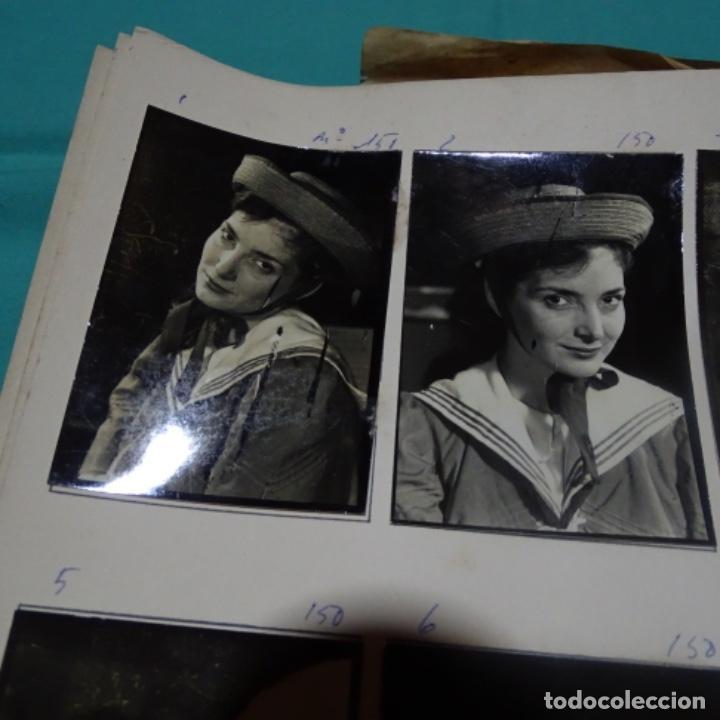 Fotografía antigua: 6 fotografías años 50 de la Actriz Nuria espert romero(1935). - Foto 2 - 198058270