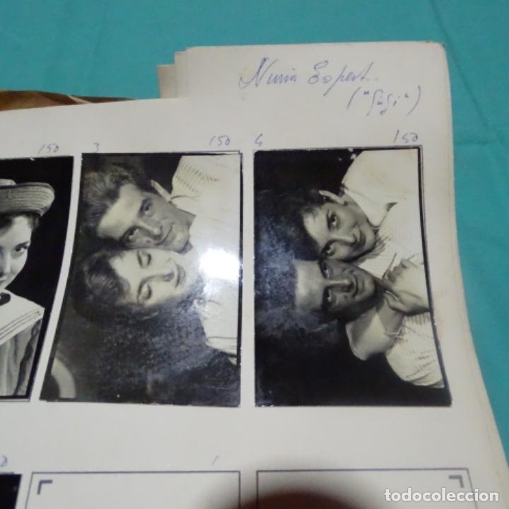 Fotografía antigua: 6 fotografías años 50 de la Actriz Nuria espert romero(1935). - Foto 3 - 198058270