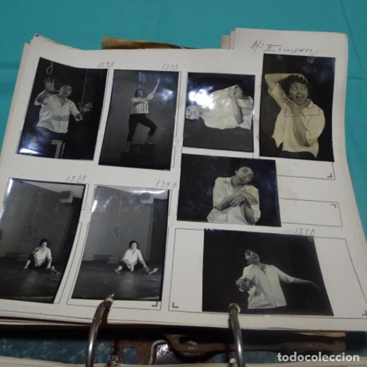 8 FOTOGRAFÍAS AÑOS 50 DE LA ACTRIZ MARIA ESCUDERO. (Fotografía - Artística)
