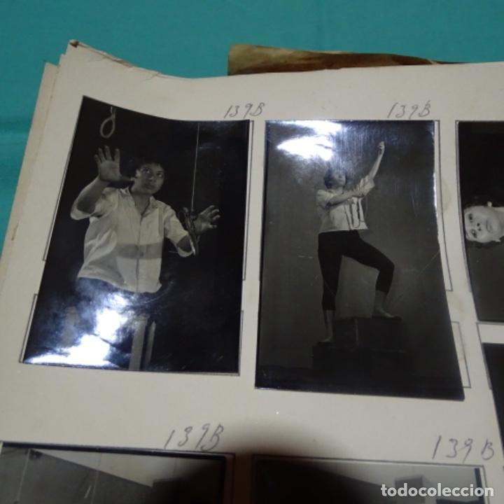 Fotografía antigua: 8 fotografías años 50 de la Actriz maria escudero. - Foto 2 - 198059017