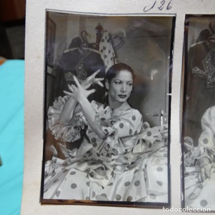Fotografía antigua: 5 fotografías años 50 de La bailaora Carmen amaya. - Foto 3 - 198065150