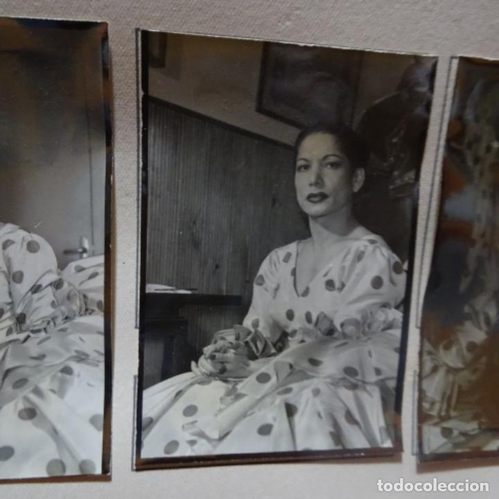 Fotografía antigua: 5 fotografías años 50 de La bailaora Carmen amaya. - Foto 5 - 198065150
