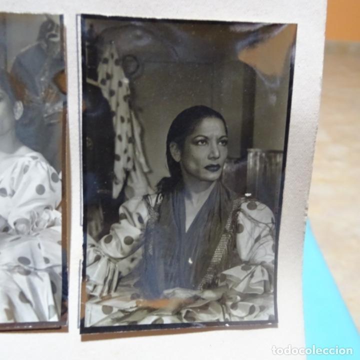 Fotografía antigua: 5 fotografías años 50 de La bailaora Carmen amaya. - Foto 6 - 198065150