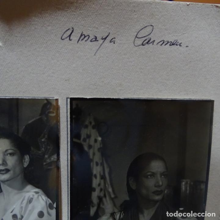 Fotografía antigua: 5 fotografías años 50 de La bailaora Carmen amaya. - Foto 7 - 198065150