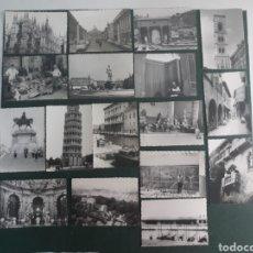Fotografía antigua: 17 FOTOGRAFÍAS ANTIGUAS DE MITAD DE SIGLO XX ITALIA ,. Lote 198399861