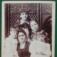 Fotografía antigua: FOTOGRAFÍA ORIGINAL STEFFENS STUDIO CHICAGO. Lote 198409485