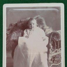 Fotografía antigua: FOTOGRAFÍA ORIGINAL NEW ERA STUDIOS CHICAGO. Lote 198409917